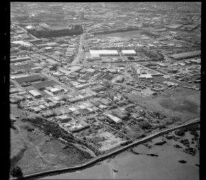 Industrial area, Onehunga, Auckland