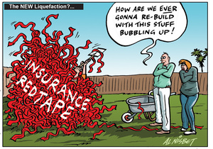 """Nisbet, Alistair, 1958- :""""How are we EVER going to rebuild with this stuff bubbling up!"""" 27 August 2011"""