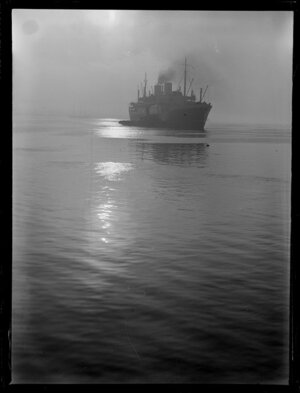 Unidentified ship, Auckland