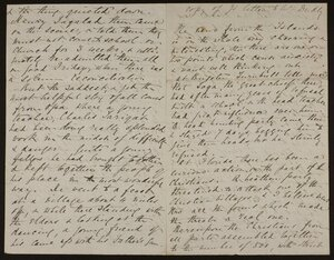 Copy of letter to Mr Dudley