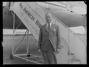 Pan American World Airways passenger, Mr R Nairn