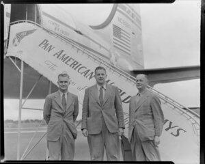 Pan American World Airways passengers, Fred Johnston, Ronald Simmonds, Manuel Morris