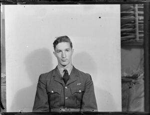 Leading aircraftman C H R Chester, Royal New Zealand Air Force