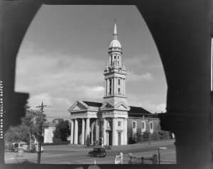 St Andrew's Presbyterian Church, corner Alten Road and Symonds Street, Auckland