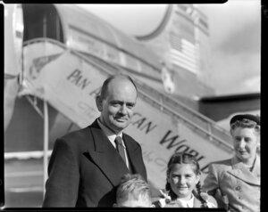 Pan American World Airways Ltd (PAWA) passenger Doctor Robb