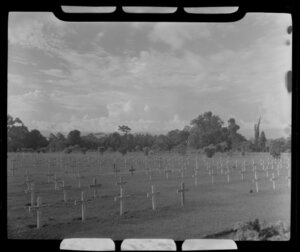 War cemetery, Lae, Morobe, Papua New Guinea