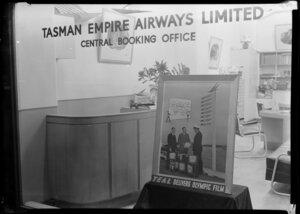 Tasman Empire Airways Ltd, Central Booking Office, Auckland