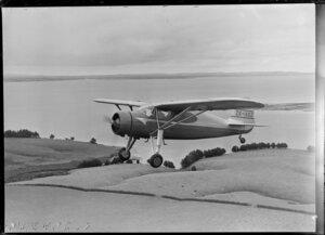 Fairchild Argus ZK-ASZ aircraft, Mangere, Auckland