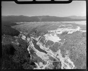Mangakino Hydro-electric Power Station, Waikato River