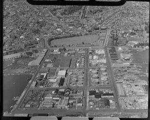 Industrial scene, Auckland City