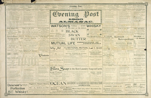 Evening Post: Evening Post 1900 almanac. 1900