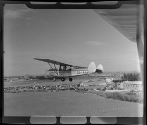 Royal New Zealand Air Command RAC Pageant at Mangere, Chrislea Super Ace aircraft in flight