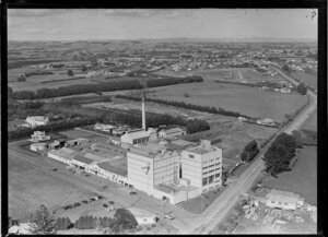 Corner of Great South Road and Bairds Road, Otahuhu, Auckland, including Dominion Brewery