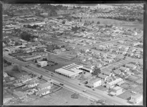 Hamilton, Waikato Region, featuring Seabrooks Garage and Jones Furnishing House