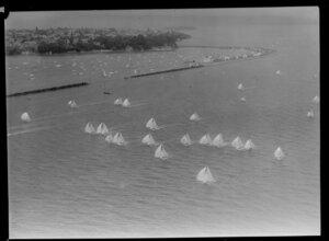 100th Anniversary Day regatta, Auckland Harbour