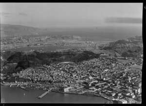 Wellington City looking towards the South