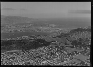 General city, Mount Victoria and looking towards Rongotai, Wellington
