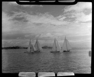 100th Anniversary Day regatta, Auckland Harbour