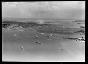 Vessels of the combined fleets of the Australia and New Zealand navies, Auckland