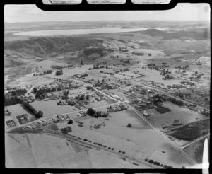Kaikohe looking north to Lake Omapere