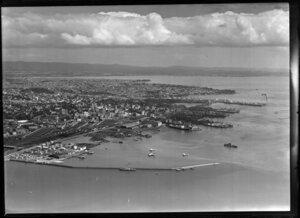 Tasman Empire Airways Ltd Mechanics Bay, Auckland