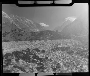 Mt Cook, South Canterbury, including The Alpine Monument in the background