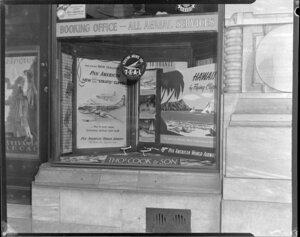 Pan American World Airways, Thomas Cook and Sons window display