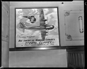 Pan American World Airways display at His Majesty's Theatre