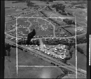 Subdivision housing development, Chatsfield, Auckland West