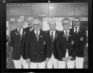 Members of the Sandringham Bowling Club, Auckland