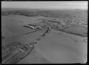 New bridge being constructed between Mangere and Onehunga, Auckland