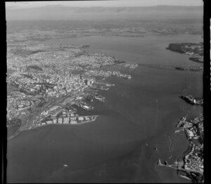 Waitemata Harbour, for the Auckland Harbour Board