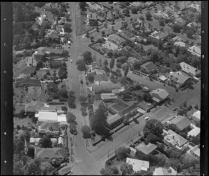 Residential houses, Auckland, including [Rangimarie Hospital?]