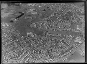 Residential housing, Mangere, Manukau City, Auckland, including Housing Corporation development