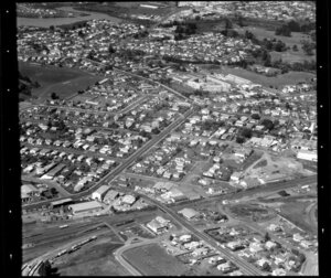 Otahuhu, Auckland, including houses and workshops