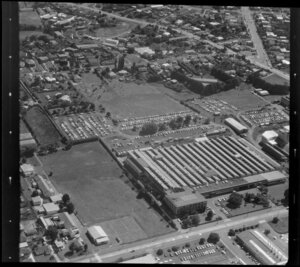 Unidentified factory in Mt Wellington/ Panmure industrial area, Auckland