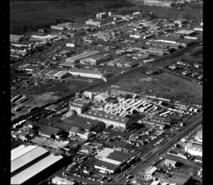 Unidentified factories and commercial buildings in industrial area, Otahuhu, Manukau City, Auckland