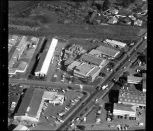 Unidentified factories and commercial buildings in Penrose/ Otahuhu industrial area, Manukau City, Auckland