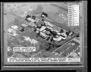 Copy of a photograph of proposed development at Erson Street, Royal Oak, Auckland