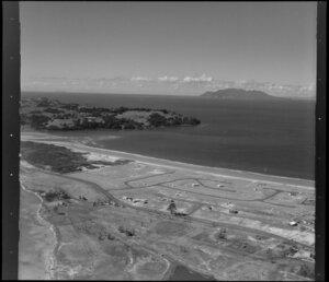 Omaha Bay, showing roading development