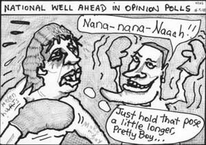 "National well ahead in opinion polls - News. ""Nana-nana-naaah!!"" ""Just hold that pose a little longer, pretty boy..."" 22 September, 2008"