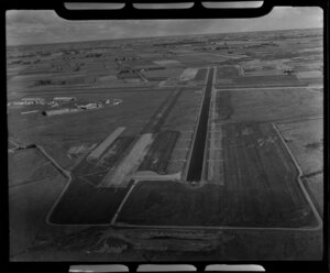 Harewood Airport, Christchurch, Canterbury Region, including cleared land and airstrip
