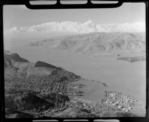 Lyttelton, Banks Peninsula District, Canterbury Region, including port and harbour
