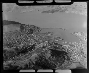 Lyttelton, Banks Peninsula District, Canterbury Region, featuring port and including Diamond Harbour and Quail Island