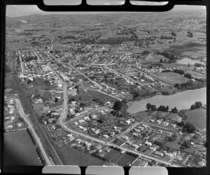 Great South Road and Prince Edward Park, Papakura, Auckland