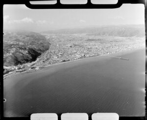 Petone, Lower Hutt, and coastline