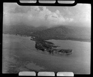 Apia, Upolu, Samoa, showing Mulinu'u