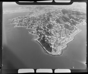 Point Jerningham, Wellington, including Roseneath