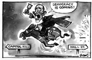 Evans, Malcolm Paul, 1945-:'Democracy is coming!' 7 October 2011