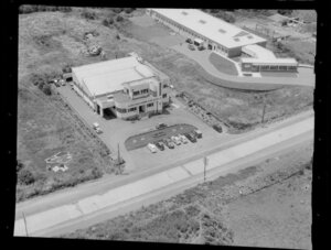 Industrial area, St James Tobacco Company Of New Zealand Limited, Penrose, Auckland